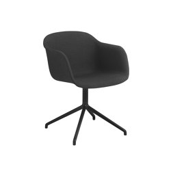 Fiber Armchair | Swivel Base | Textile | Sillas | Muuto