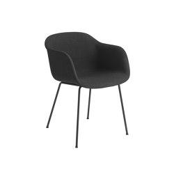 Fiber Armchair   Tube Base   Textile   Chairs   Muuto