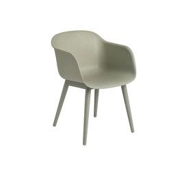 Fiber Armchair | Wood Base | Chairs | Muuto