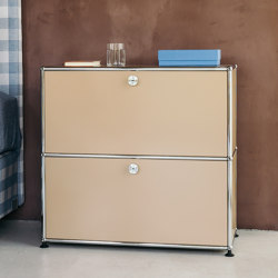 USM Haller Nightstand | USM Beige | Tables de chevet | USM