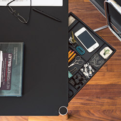 USM Haller Table | Black | Tables collectivités | USM