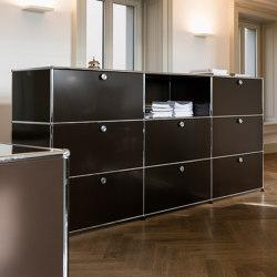 USM Haller Storage | USM Brown | Cabinets | USM