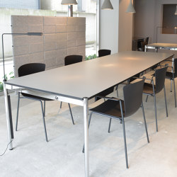 USM Haller Table | Pearl Gray | Tavoli contract | USM