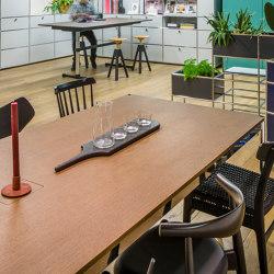USM Haller Table   Natural Oeak   Tables collectivités   USM