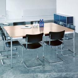 USM Haller Table | White Oak | Mesas contract | USM
