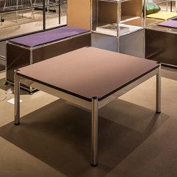 USM Haller Low Table   Mauve   Coffee tables   USM