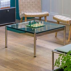 USM Haller Low Table   Transparent Glass   Coffee tables   USM