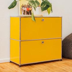 USM Haller Credenza | Golden Yellow | Sideboards | USM