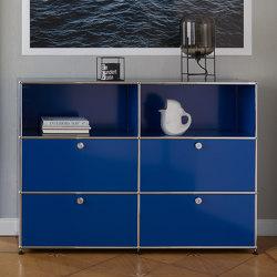 USM Haller Credenza | Gentian Blue | Sideboards | USM