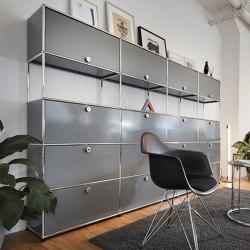 USM Haller Storage | Mid-gray | Cabinets | USM
