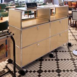 USM Haller Storage | USM Beige | Sideboards | USM