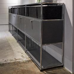 USM Haller Sideboard | Mid-gray | Sideboards | USM