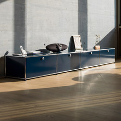 USM Haller Sideboard | Steel Blue | Sideboards | USM