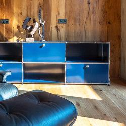USM Haller Sideboard | Gentian Blue | Sideboards | USM