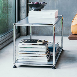 USM Haller Sidetable | Light Gray | Side tables | USM