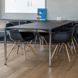 USM Haller Table | Black | Tavoli contract | USM
