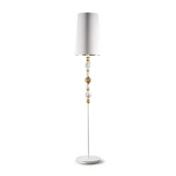 Belle de Nuit Floor Lamp II | Golden Luster (CE) | Luminaires sur pied | Lladró