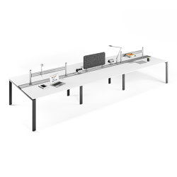 Solos table system | Mesas contract | Assmann Büromöbel