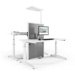 Applica Workstation modules | Table equipment | Assmann Büromöbel