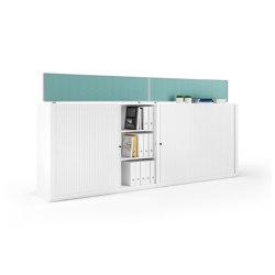 Allvia Tambour door unit cabinets | Cabinets | Assmann Büromöbel