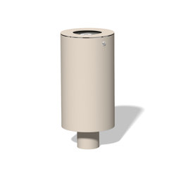 Litter bin 240 with and without ashtray | Waste baskets | BENKERT-BAENKE