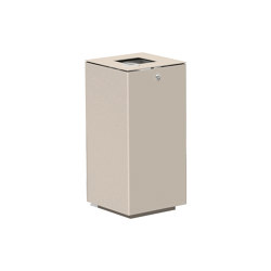 Litter bin 710 with and without ashtray | Waste baskets | BENKERT-BAENKE