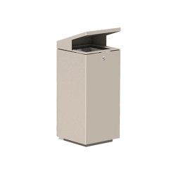 Litter bin 710 with roof top | Waste baskets | BENKERT-BAENKE