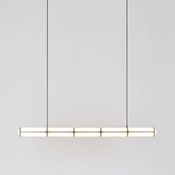 Endless Straight - 5 Units (Black) | Suspended lights | Roll & Hill