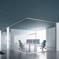 DV602-Single glass 01 | Wall partition systems | DVO