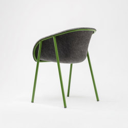 LJ 1 PET Felt Armchair | Chairs | De Vorm