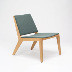 Wood Me Lounge Chair | Poltrone | De Vorm