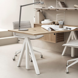 Works | Contract tables | string furniture