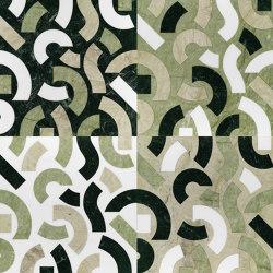Opus | Anemone muschio | Natural stone panels | Lithos Design