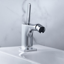 AXOR Citterio E Single lever bidet mixer with pop-up waste set | Bidet taps | AXOR
