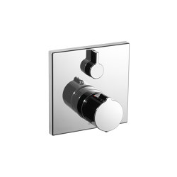 KWC ZOE Trim kit with thermostatic function unit | Shower controls | KWC