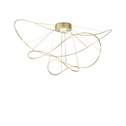 Hoops PL gold 3 | Ceiling lights | Axolight