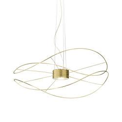 Hoops SP gold 2 | Suspended lights | Axolight