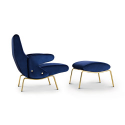 Delfino Armchair and Pouf | Armchairs | ARFLEX