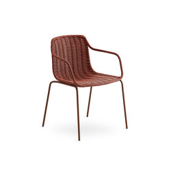 Lapala Hand-woven dining armchair | Chairs | Expormim