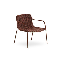 Lapala Hand-woven low armchair | Armchairs | Expormim