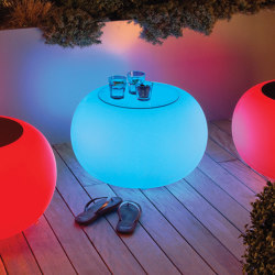 Bubble Outdoor LED Accu | Mesas auxiliares | Moree