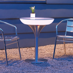 Lounge M 75 LED Pro Outdoor | Mesas comedor | Moree