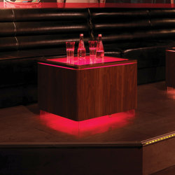 Ora LED Pro Accu Walnut V2 | Coffee tables | Moree