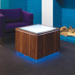 Ora LED Walnut | Tables basses | Moree