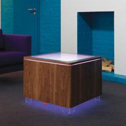Ora LED Accu Walnut | Coffee tables | Moree