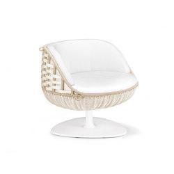 SWINGREST Lounge chair, rotating | Armchairs | DEDON