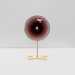 Pool Object Small With Brass Stand | Objets | SkLO