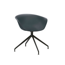 Duna 02 - Trestle swivel, plastic   Chairs   Arper