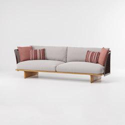 Mesh 3-seater sofa | Sofas | KETTAL