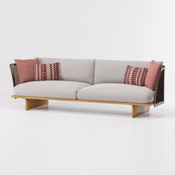 Mesh 3-seater sofa | Divani | KETTAL
